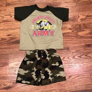 Other - 3T Army Pajamas